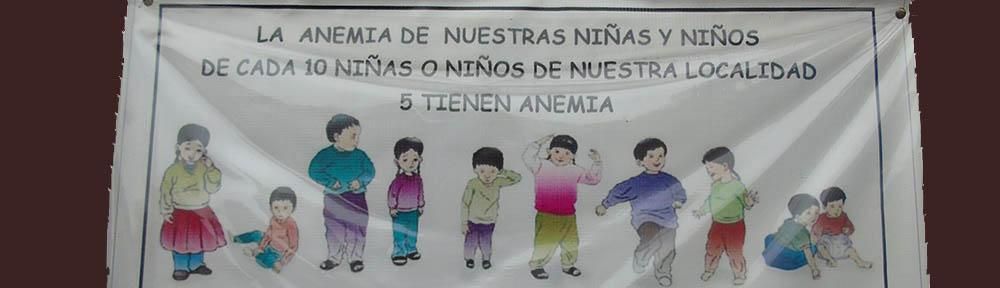 Half of children in Peru suffer from Anemia